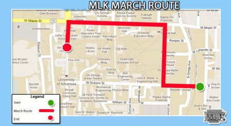 March Route